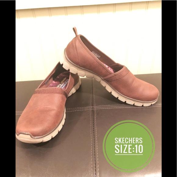 skechers memory foam womens dress shoes